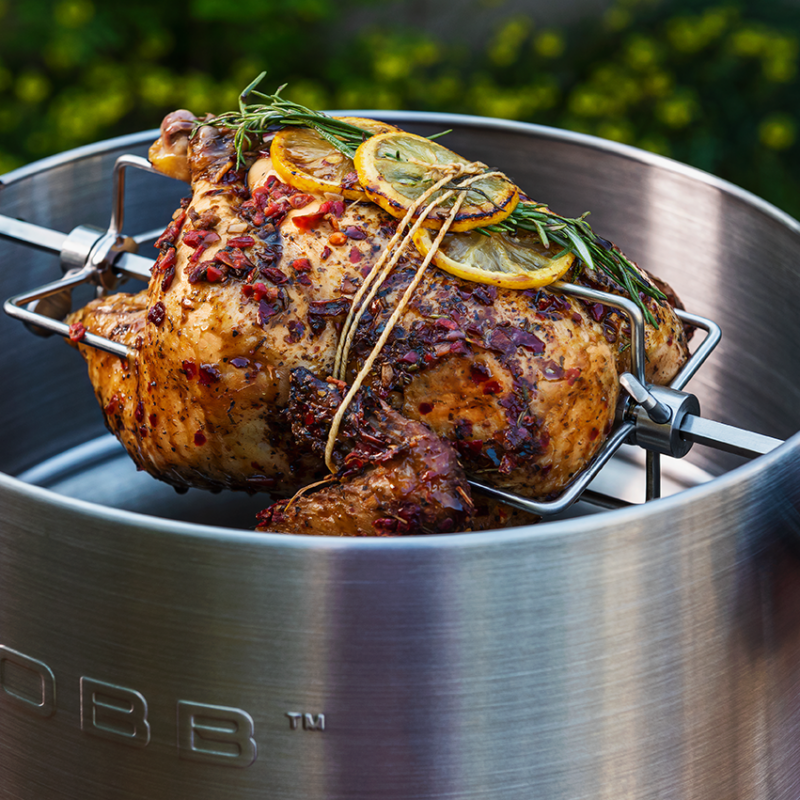 BBQ Rotisserie COBB met kip