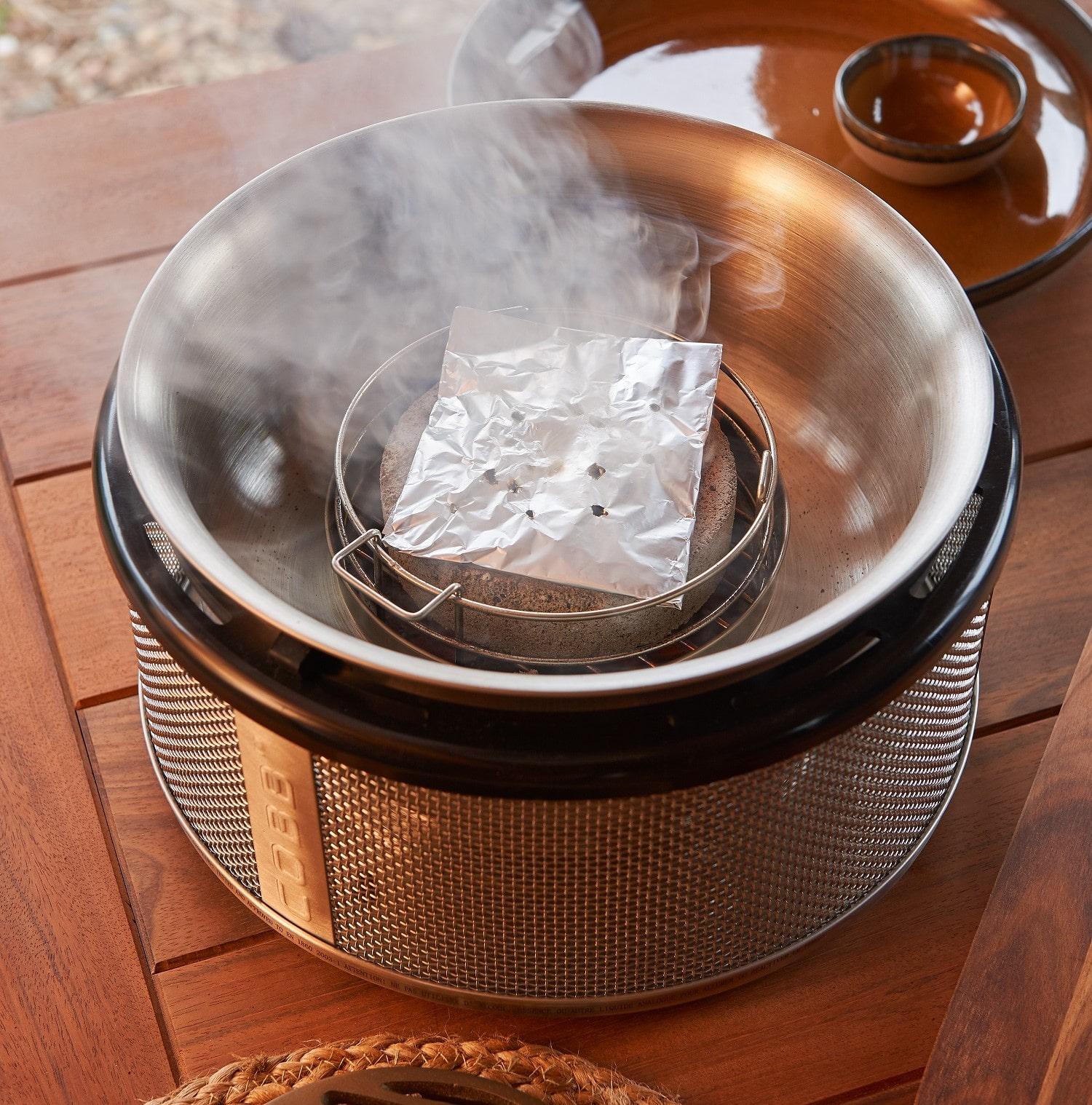 Rookoven COBB roken met rookpellets