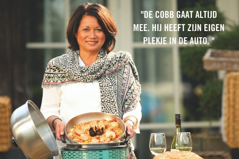 Meeneem BBQ Paella op COBB