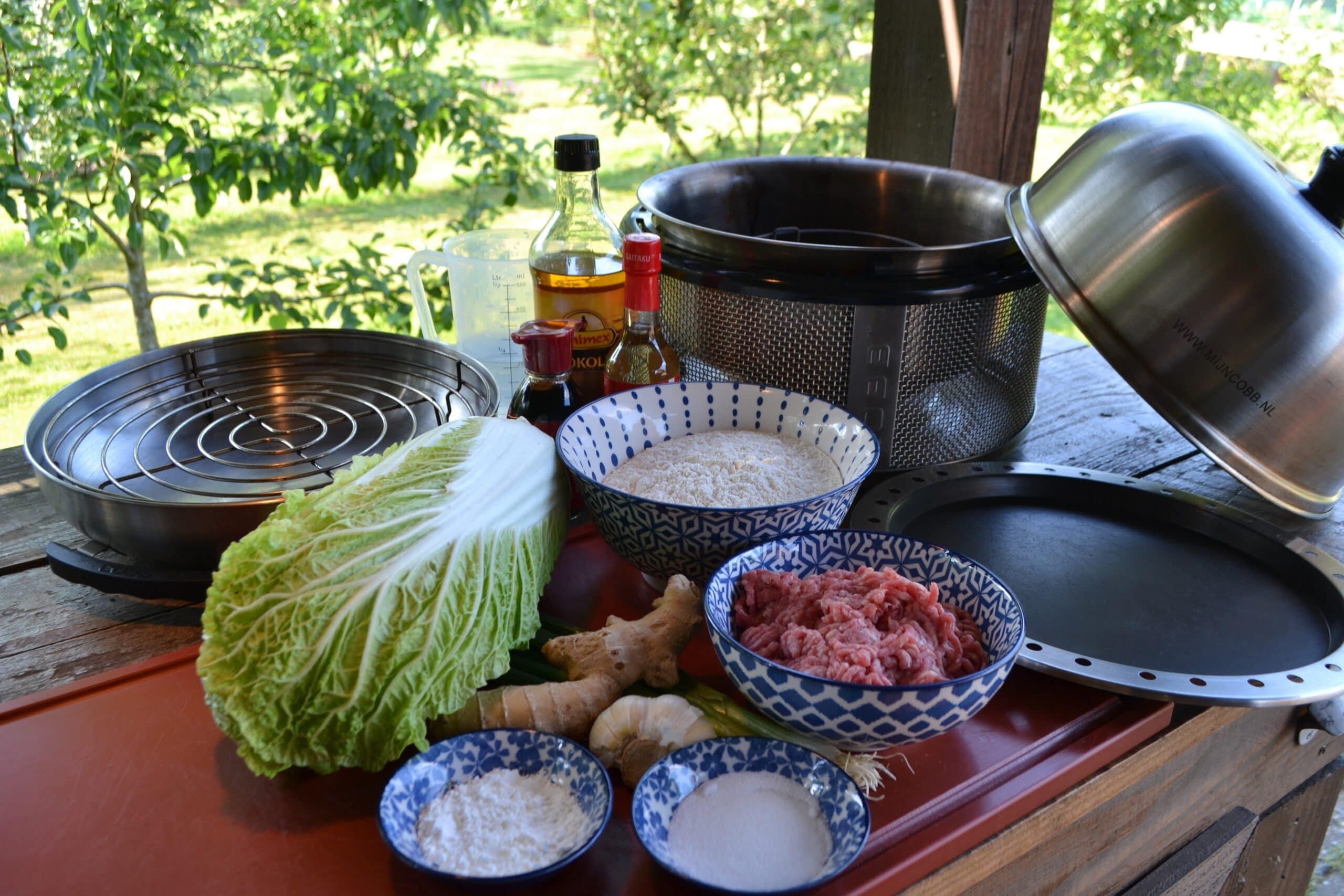 BBQ Inspiratie Dumplings COBB 1