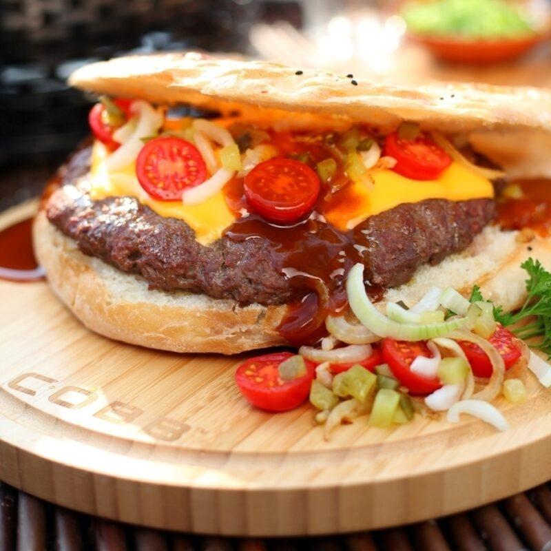 Bamboe Snijplank COBB hamburger