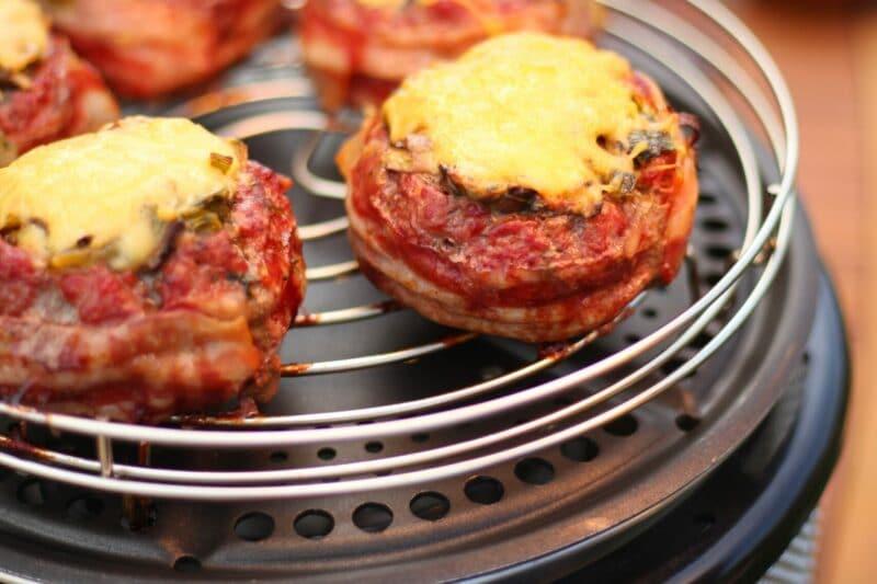 BBQ Recept Beercan burgers COBB