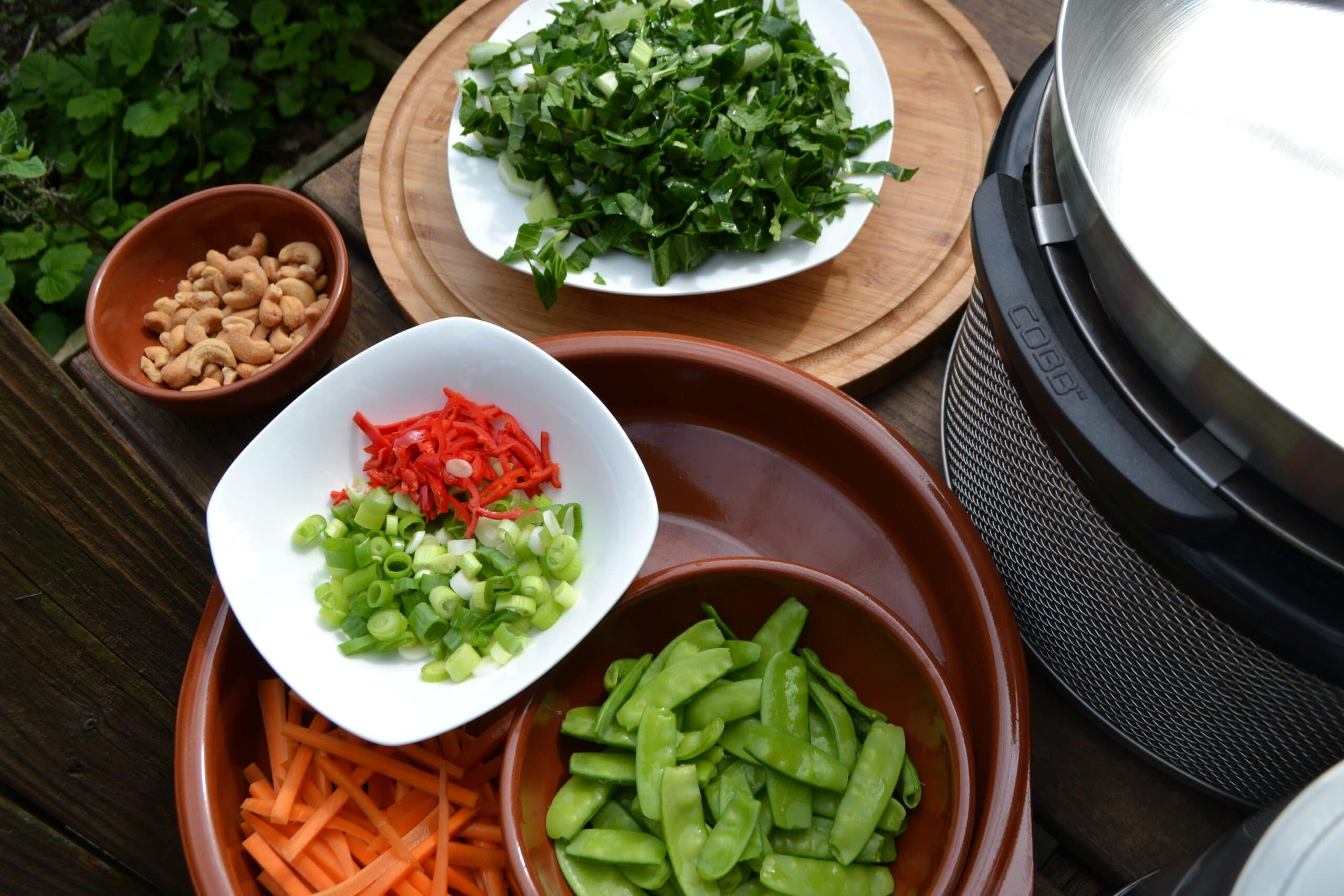 Buiten Koken COBB vegetarisch gerecht