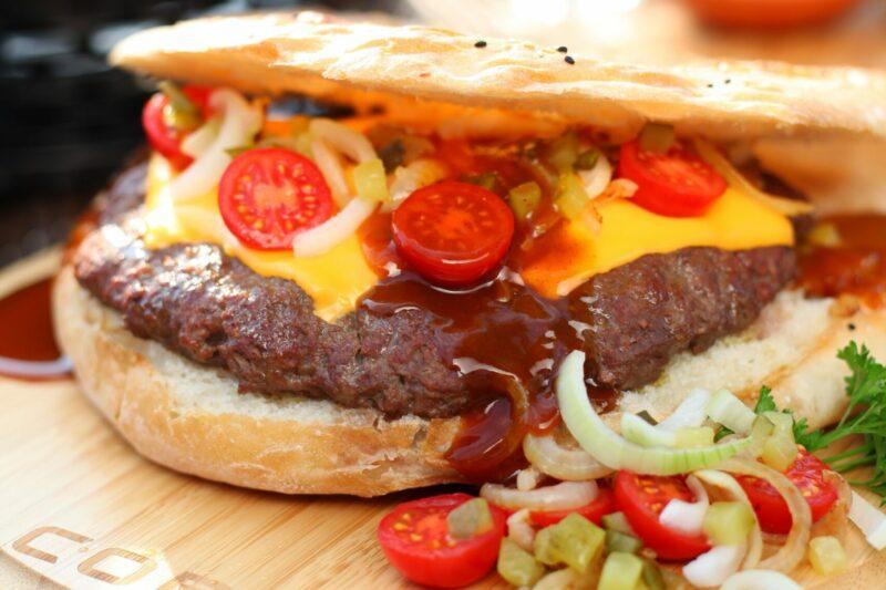 BBQ Recept Family Burger