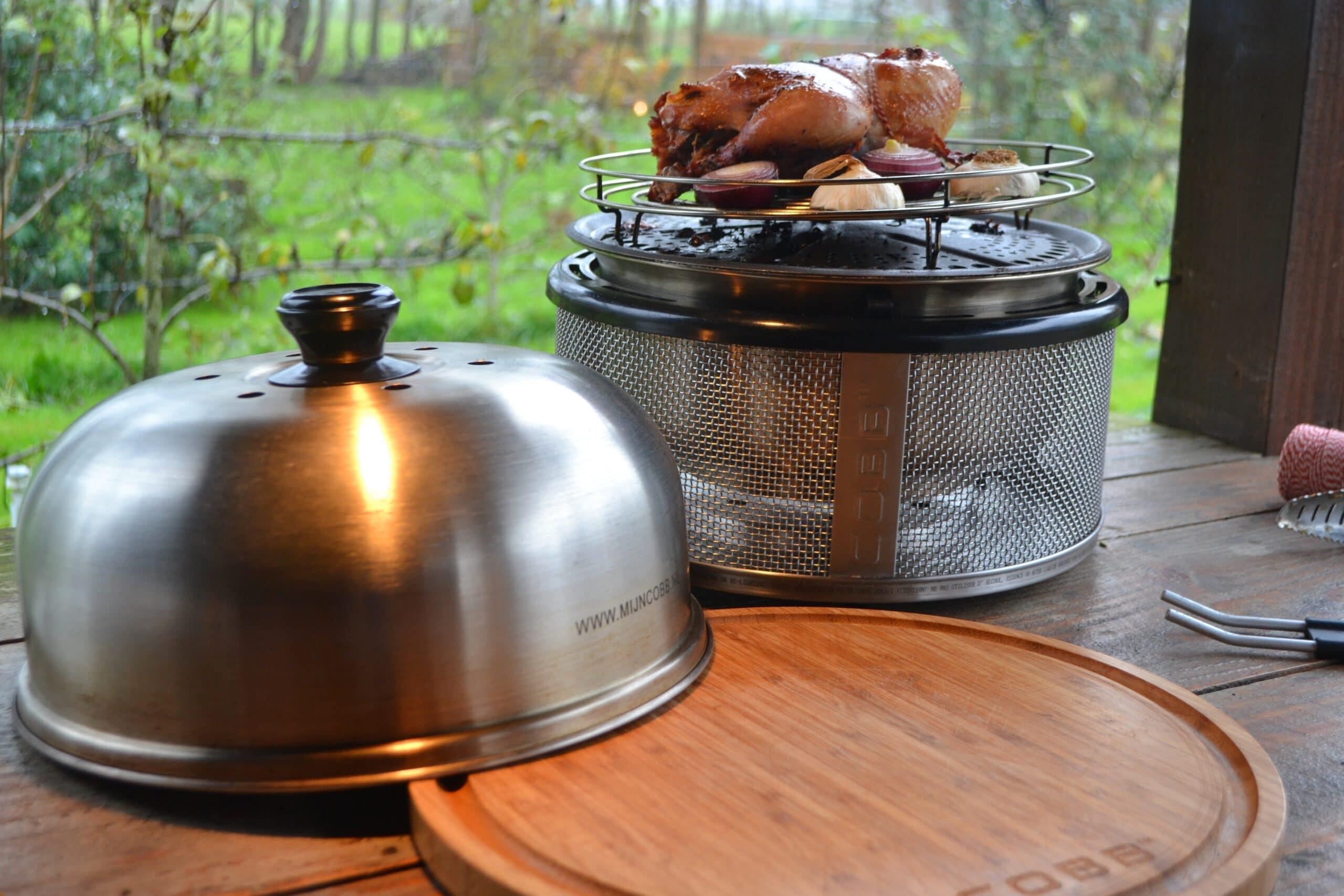 Fazant Bereiden BBQ COBB 10