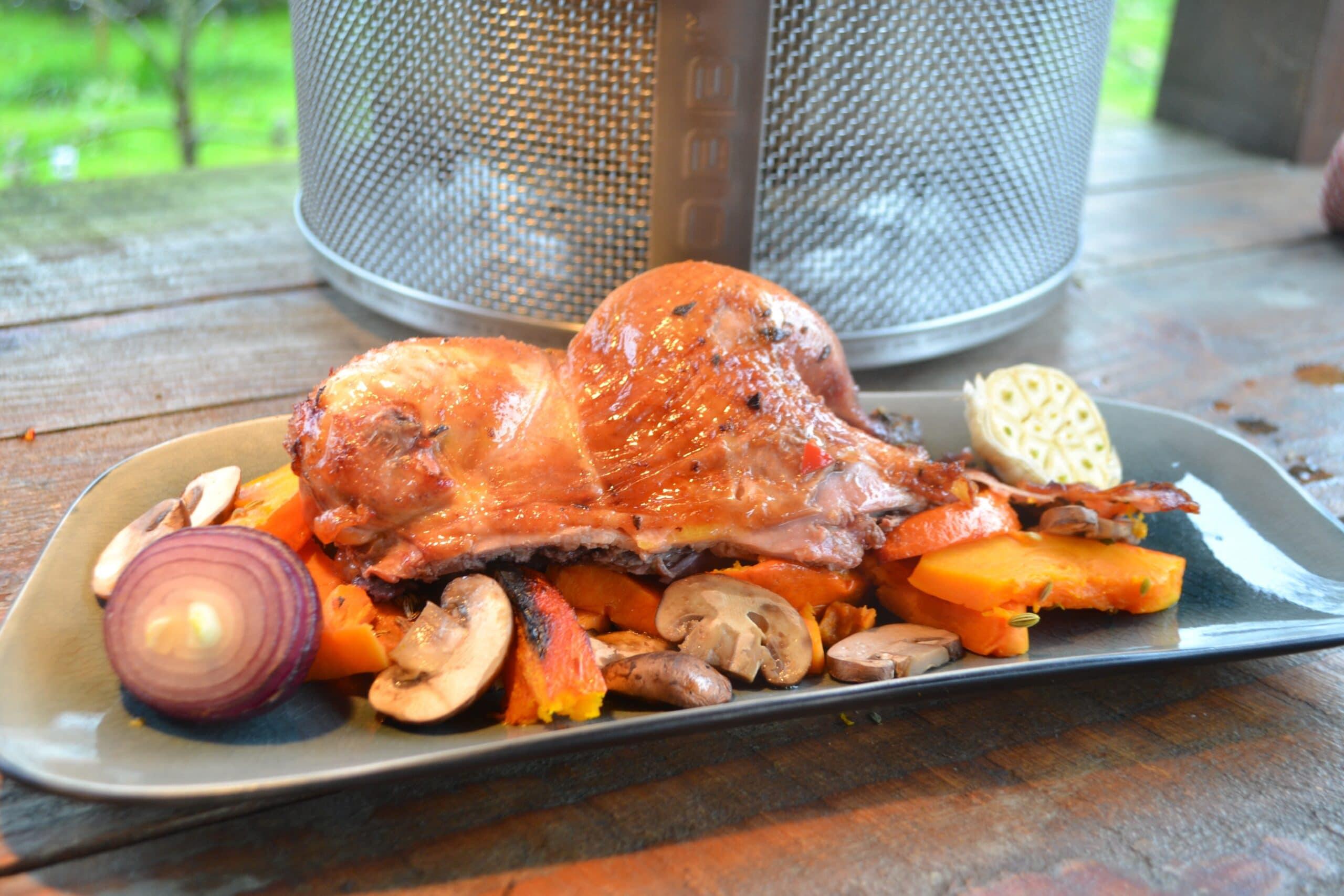 Fazant Bereiden BBQ COBB 11