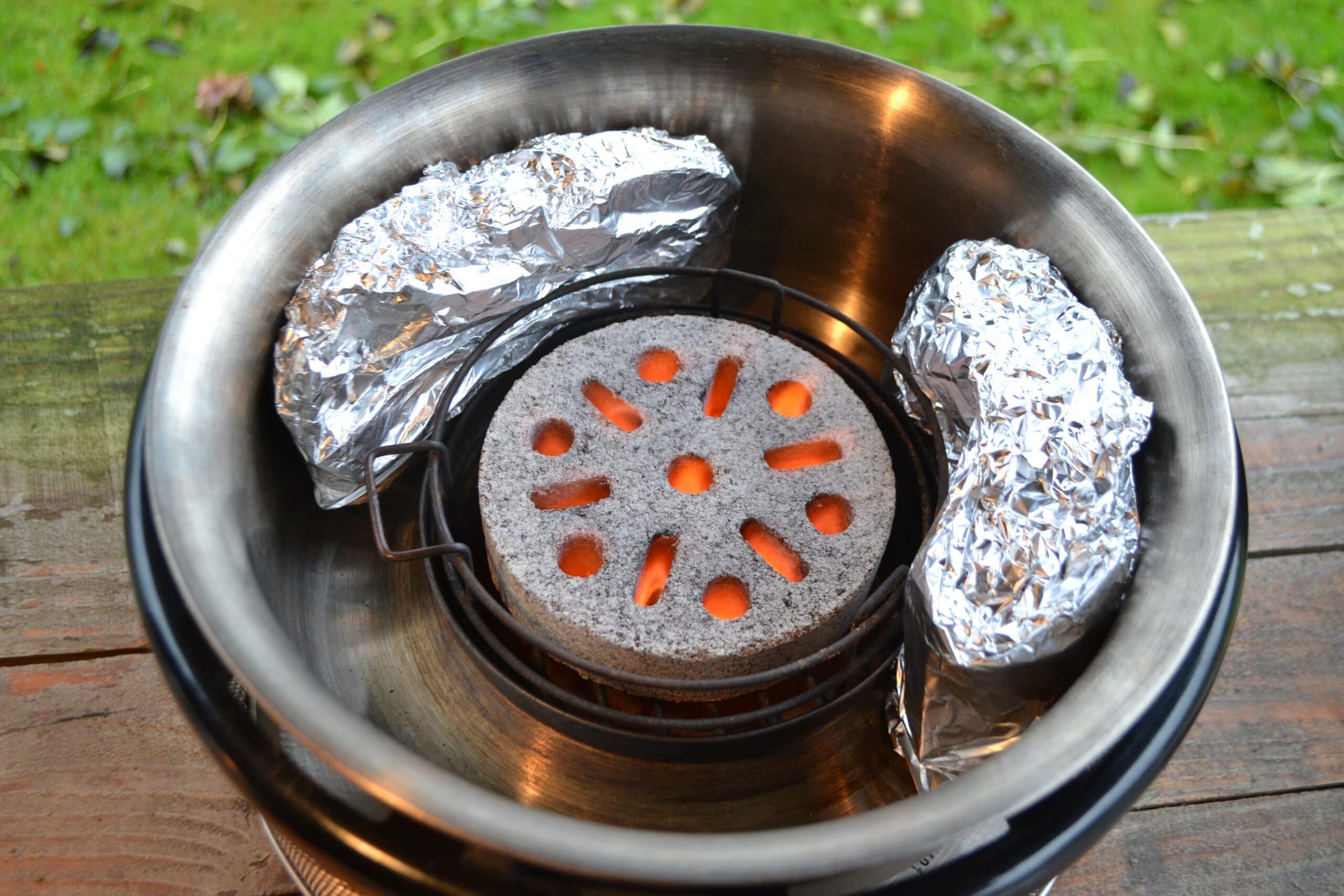 Fazant Bereiden BBQ COBB 7