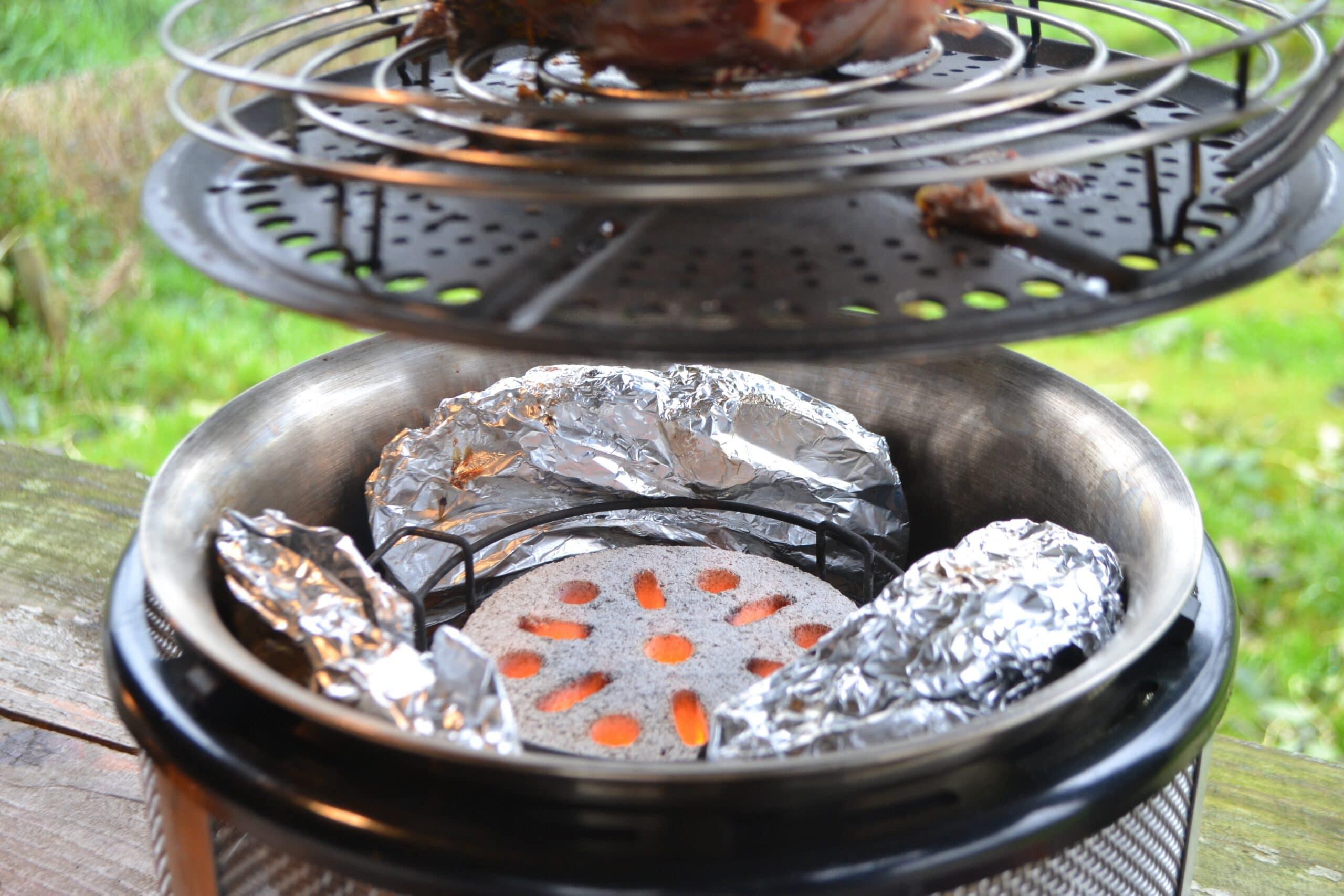 Fazant Bereiden BBQ COBB 9