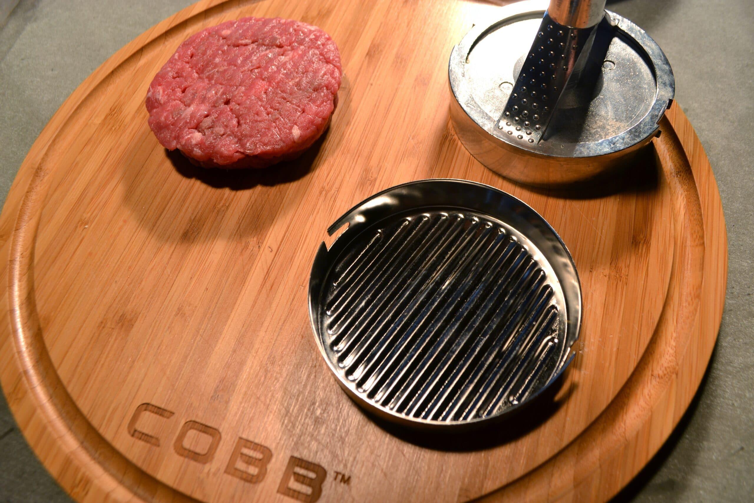 Hamburger BBQ COBB 10