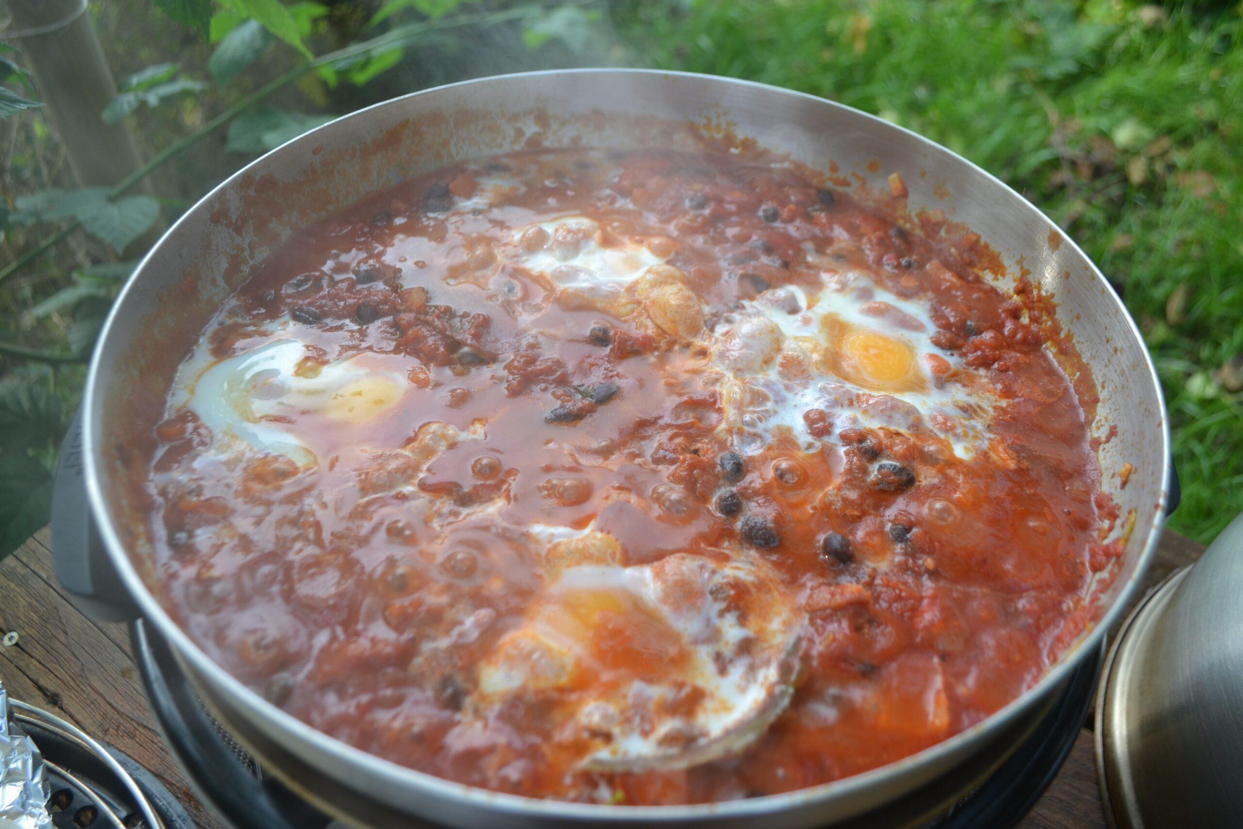 Huevos Rancheros BBQ COBB 8
