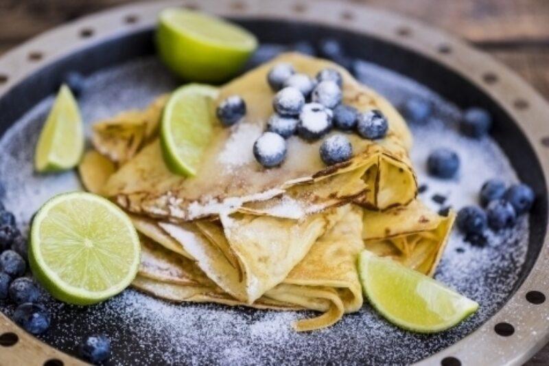 BBQ Recept Pannekoeken met blauwe bes COBB