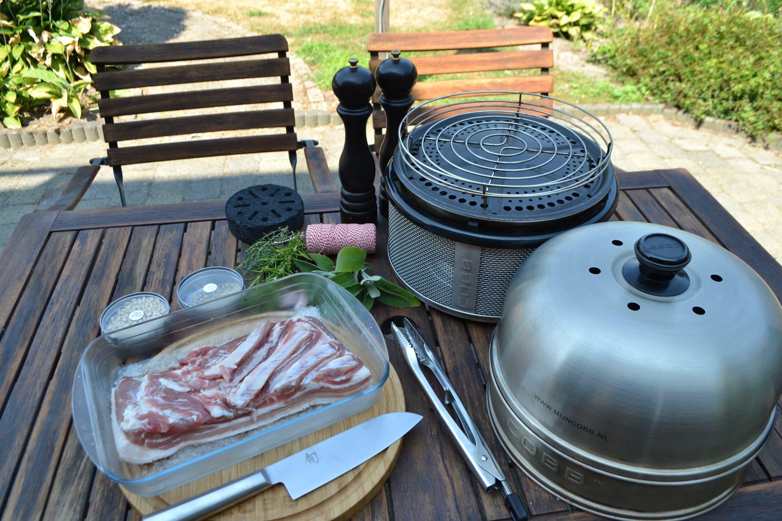 Porchetta BBQ COBB