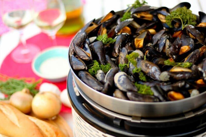 BBQ Recept Mosselen COBB